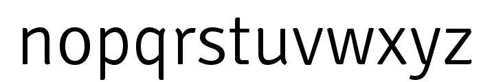 SignikaNegative-Light Font LOWERCASE