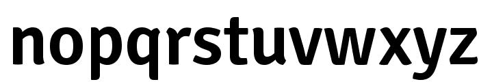 SignikaNegative-Semibold Font LOWERCASE