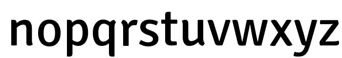 Signika Font LOWERCASE