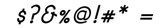 Signoria Bold Italic Font OTHER CHARS