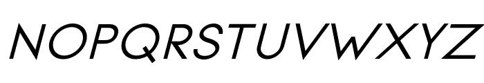 Signoria Bold Italic Font UPPERCASE