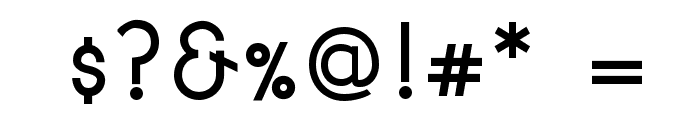 Signoria Bold Font OTHER CHARS
