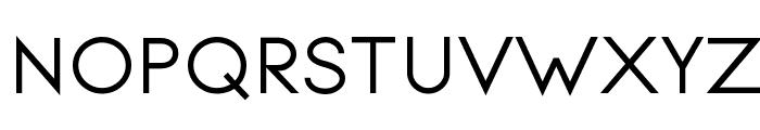 Signoria Bold Font UPPERCASE