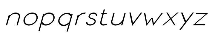 Signoria Italic Font LOWERCASE