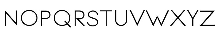 Signoria Regular Font UPPERCASE