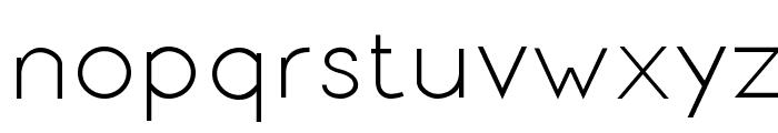 Signoria Regular Font LOWERCASE