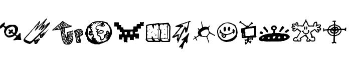 Signz Font UPPERCASE