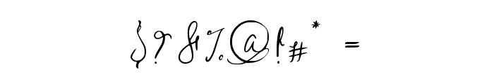Sild regular Font OTHER CHARS