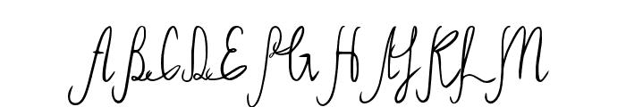 Sild regular Font UPPERCASE