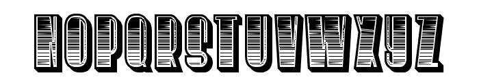 Silence Gradient Regular Font UPPERCASE