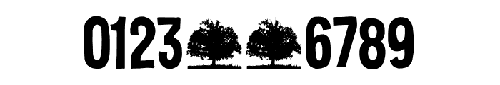 Silent Echo DEMO Regular Font OTHER CHARS