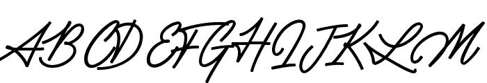 Silent Fighter Font UPPERCASE