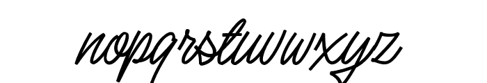 Silent Fighter Font LOWERCASE