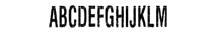 Silent Hell of Cheryl Condensed Font UPPERCASE