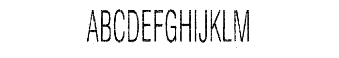 Silent Hell of Cheryl Condensed Font LOWERCASE