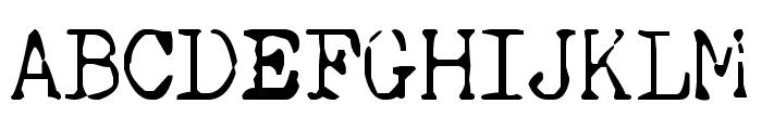 SilentHunterIII Font Font UPPERCASE