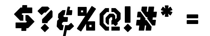 SilexStencil-Basic Font OTHER CHARS