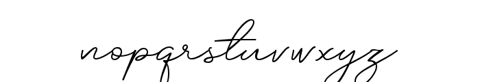 Silhouette Font LOWERCASE