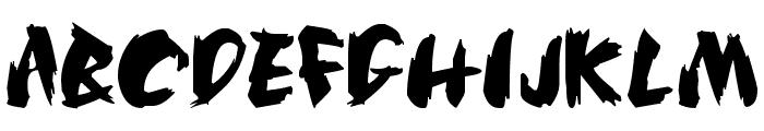 SilkRoad Font UPPERCASE