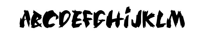 SilkRoad Font LOWERCASE