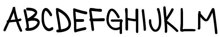 Silly Games Regular Font LOWERCASE