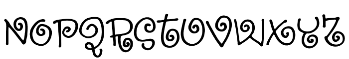 SillyheartDEMO Font LOWERCASE