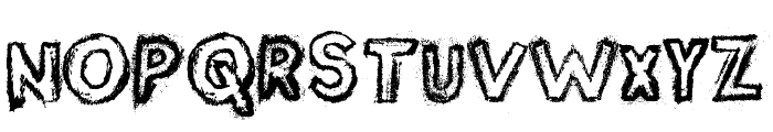 Silver Dust Font LOWERCASE