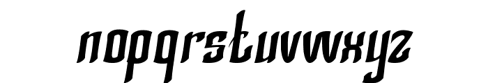 Silver Knight Font LOWERCASE
