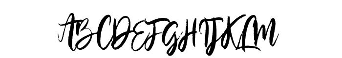 SilverCharm Font UPPERCASE
