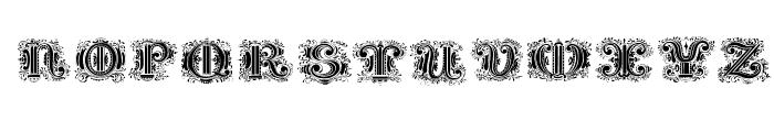 SilvestreInitials Font UPPERCASE