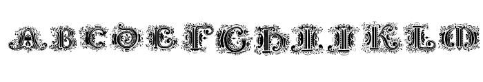 SilvestreInitials Font LOWERCASE