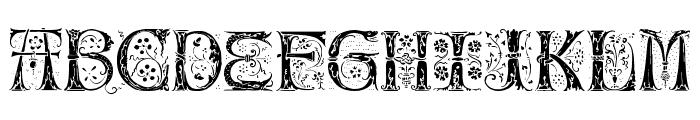 Silvus Font UPPERCASE