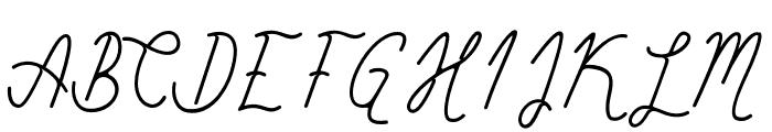 SimbokPudjieFree Font UPPERCASE