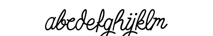 SimbokPudjieFree Font LOWERCASE