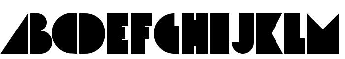 Simcha Font UPPERCASE