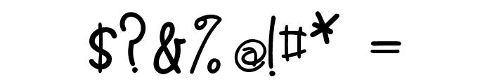 Simon Regular Font OTHER CHARS