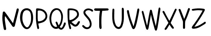 Simon Regular Font UPPERCASE