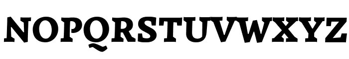 Simonetta Black Italic Font UPPERCASE
