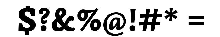 Simonetta-Black Font OTHER CHARS