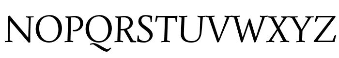 Simonetta Italic Font UPPERCASE