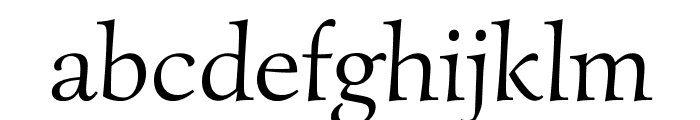 Simonetta-Regular Font LOWERCASE