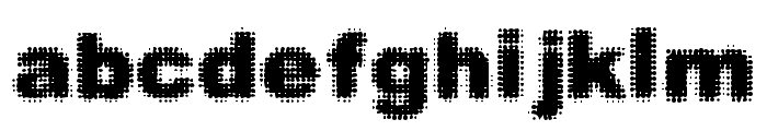 Simple Myopia Font LOWERCASE