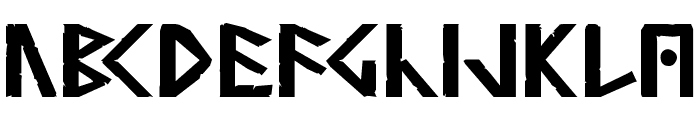 Simple Runes Normal Font UPPERCASE