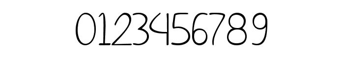 Simple Signature Font OTHER CHARS