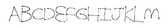 SimpleFolks Font LOWERCASE
