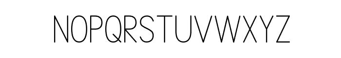 SimplePrint-Regular Font UPPERCASE