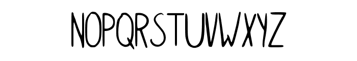 Simple_kindergarden Font UPPERCASE