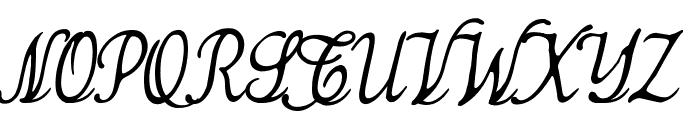 Simplesnails ver 4.0 Font UPPERCASE