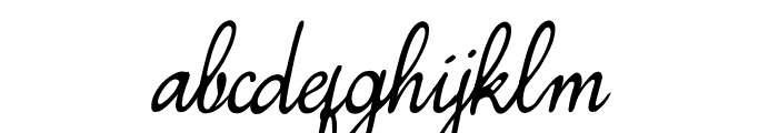 Simplesnails ver 4.0 Font LOWERCASE