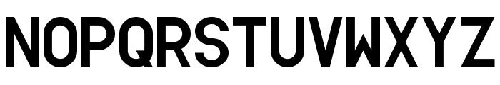 Simpleton Gothic Regular Font UPPERCASE